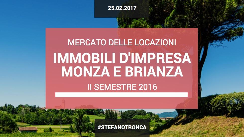 Mercato delle Locazioni per gli Immobili d'Impresa Monza e Brianza